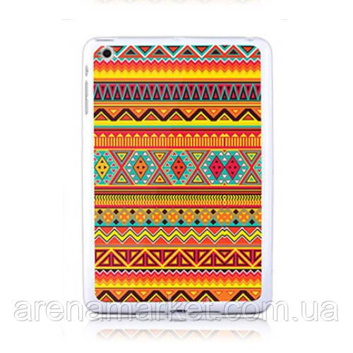 Тонкий силіконовий чохол для iPad mini Ацтек