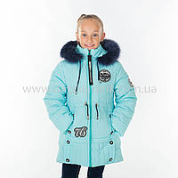 "Зимняя куртка для девочки ""Кнопка "",Зима 2018, фото 1"