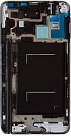 Передняя панель корпуса (рамка дисплея) Samsung N9005 Note 3 / N9006 Note 3 Grey