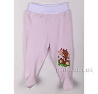 Ползунки детские Niso Baby 1044 светло-розовые 80