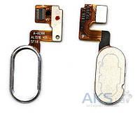 Шлейф для Meizu M3 Note (L681H) с кнопкой Home Original Silver