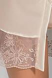 Комплект білизни Lotus peignor cream S/M - Passion, фото 2