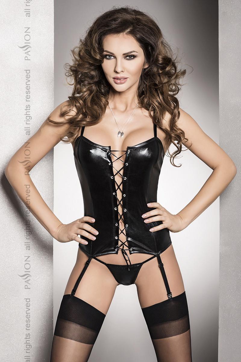 Комплект белья Bes corset black XXL/XXXL - Passion