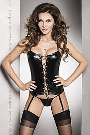 Комплект білизни Bes corset black XXL/XXXL - Passion