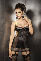 Комплект белья Ceres corset black S/M - Passion, фото 1