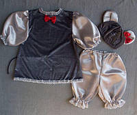 Детский новогодний костюм для девочки - Мышка Соня