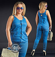 Стильный женский брючный костюм - 16851