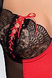 Комплект белья Rodos corset red S/M - Passion, фото 2