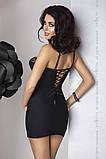 Комплект белья Zoja chemise black L/XL - Passion, фото 2