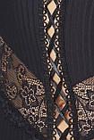 Комплект белья Zoja corset black XXL/XXXL - Passion, фото 2