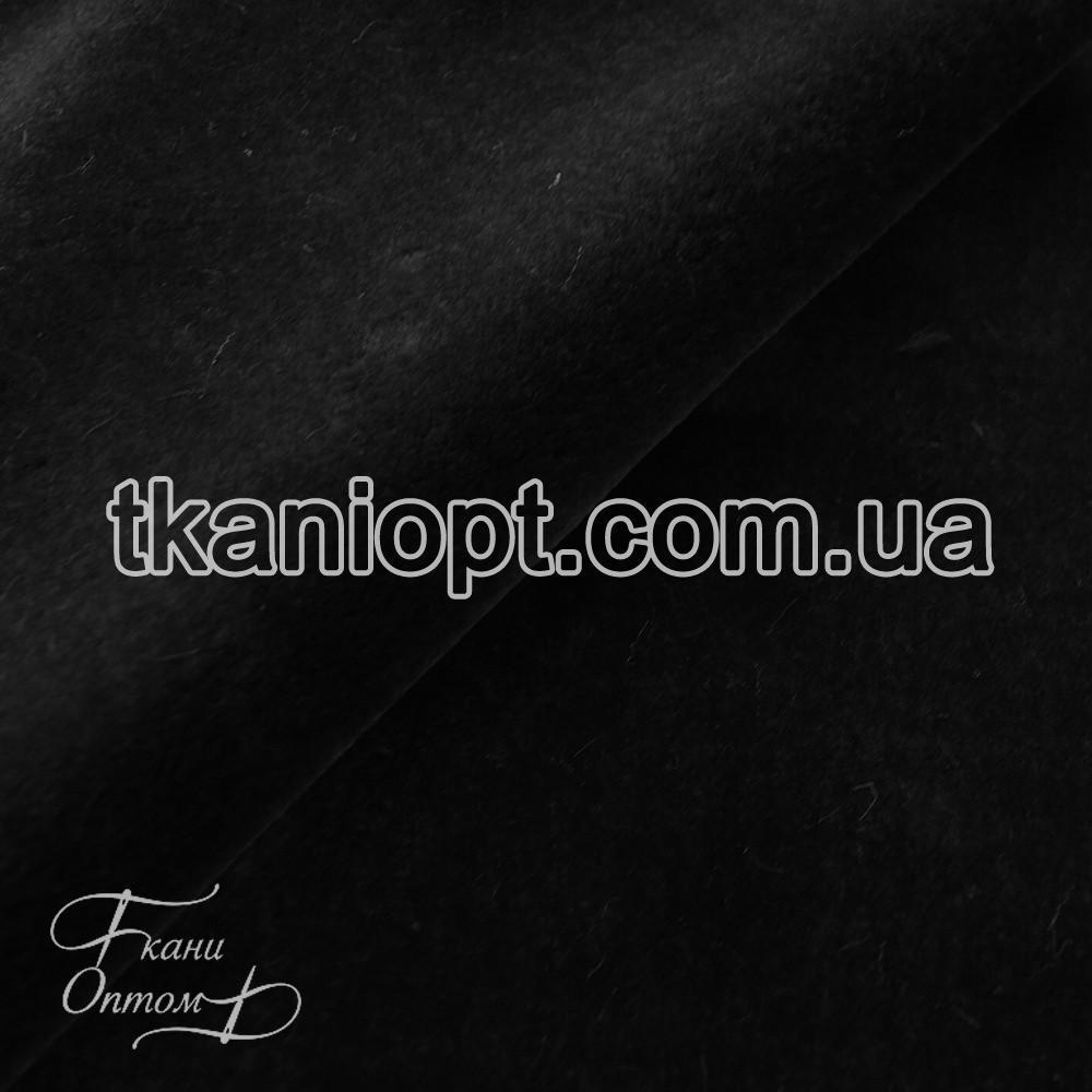 Ткань  Мех искусственный мутон (графит)