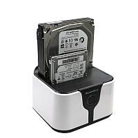 """Дисковый копировщик Blueendless на 2 диска SATA 2.5/3.5"""" SSD док-станция"""