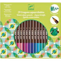 Набор для творчества Djeco - Акварельные карандаши 24 штуки (DJ09754)