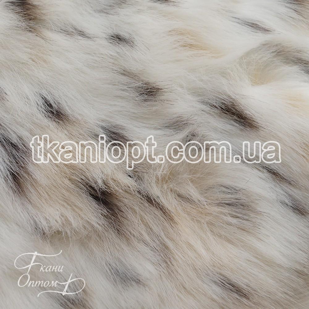 Ткань Мех искусственный Рысь