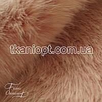 Ткань Мех искусственный песец (пудра)