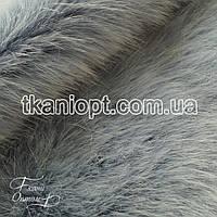 Ткань Мех искусственный песец (светло-голубой)