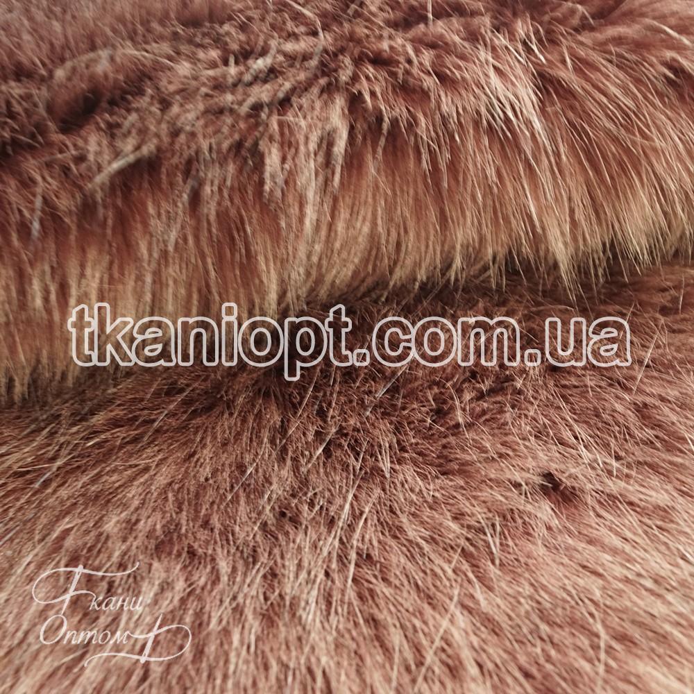 Ткань Мех искусственный песец (фрезовый)