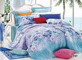 Комплект постельного белья сатин люкс 3D Moon Love ST 251054 (Полуторный)