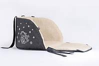 Матрасик для санок Baby Breeze 0301 (графит)