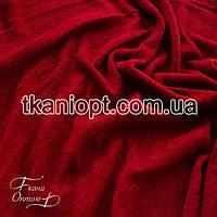 Ткань Трикотаж ангора арктика (вишневый)