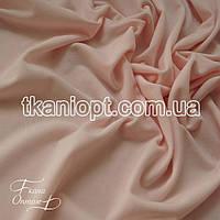 Ткань Трикотаж масло (светлый персик)
