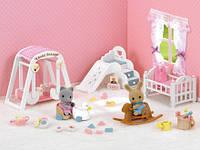 Детская комната с малышами, Sylvanian Families