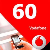 Стартовый пакет Vodafone 60 выгодный 3G интернет безлимитные звонки в сети и соцсети