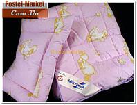 Комплект детский БЕБИ одеяло и подушка 40х55