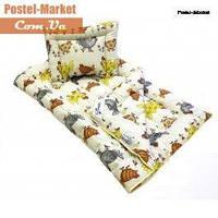 Комплект детский МАЛЫШ одеяло и подушка 40х55