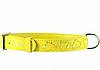 Ошейник COLLAR GLAMOUR со стразами Сердечко, ширина 25мм, длина 38-49см, желтый 33178