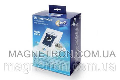 Набор мешков (12шт) E201M S-BAG Classic Long Performance к пылесосу Electrolux 9002560994
