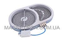 Конфорка для стеклокерам. поверхности Whirlpool 1000/1800W