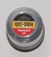 Крем красный для обуви в банке Блискавка 60мл, фото 1