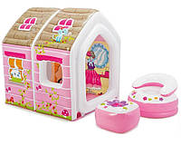"""Детский надувной игровой домик """"Princess Play House"""" Intex 48635"""