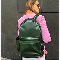 Школьный рюкзак зелёный глянцевый, фото 1