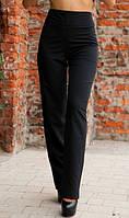 Черные брюки с высокой посадкой