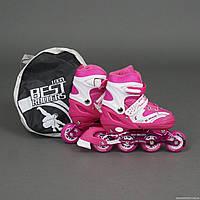 Ролики Best Rollers 1003 «L (39-42)» розовые