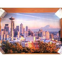 РАСПРОДАЖА! Постер Городской пейзаж на фотобумаге