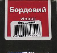 Крем бордо для взуття в банці Блискавка 60мл, фото 1