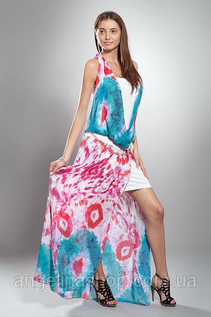 Платье двойка мод 297-5,размеры 44-46