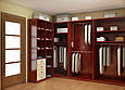 Гардеробные комнаты по индивидуальным размерам на заказ, фото 5