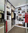 Гардеробные комнаты по индивидуальным размерам на заказ, фото 9