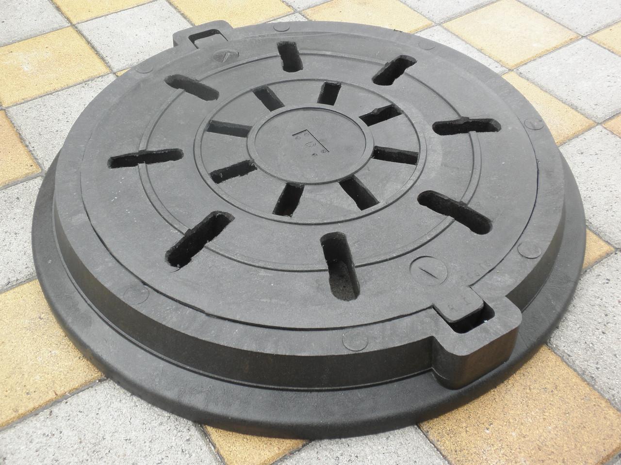 Люк дренажный полимерпесчаный  (до 8 т)