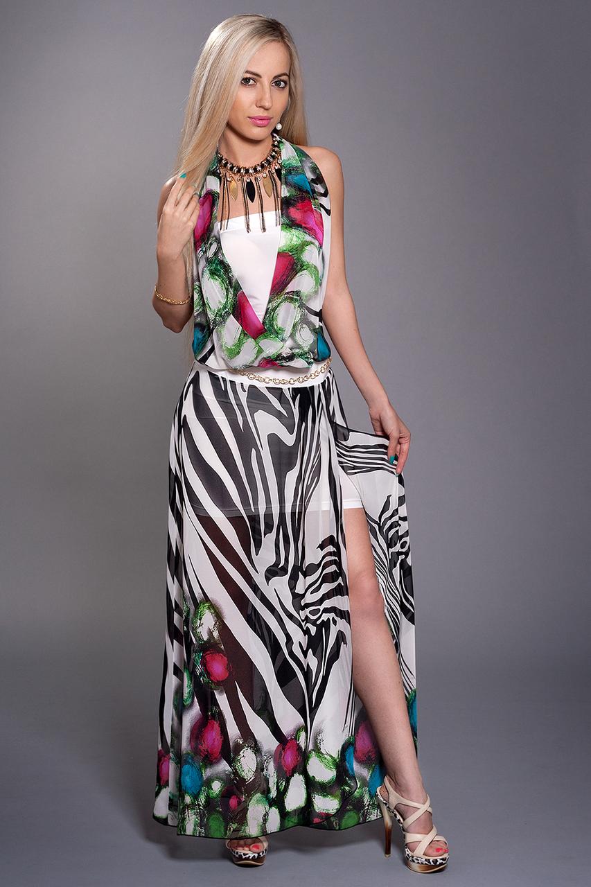 Платье двойка мод 297-9,размеры 44-46