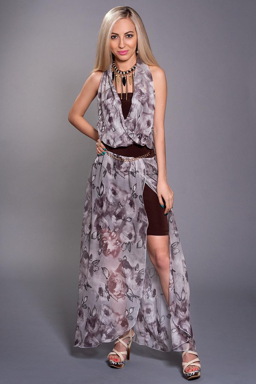 Платье двойка мод 297-10,размеры 44-46