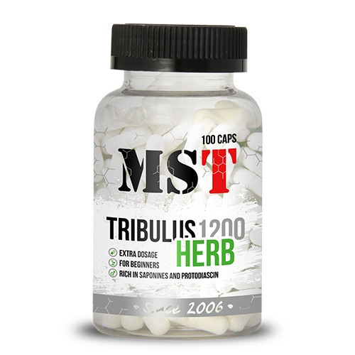 MST Tribulus 1200 Herb 100 caps мст трибулус
