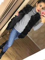 Женская жилетка искусственный мех, фото 1