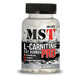 MST L-Carnitine Pro 100 caps мст л карнитин про