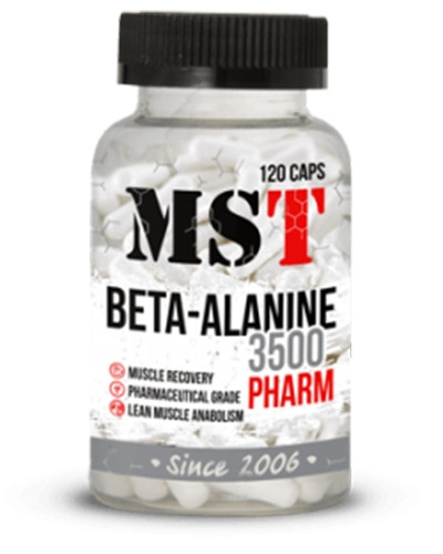 MST Beta Alanine 3500 Pharm 120 caps мст бета аланин