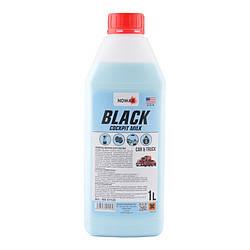Полироль-молочко для пластика NOWAX BLACK  (NX01125) 1л.